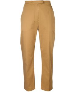 Kenzo | Cropped Trousers 36 Cotton/Polyurethane/Acetate/Polyamide