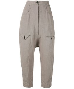 Rundholz | Crop-Crotch Trousers S