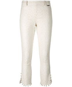 Twin-set | Pom Pom Cropped Trousers