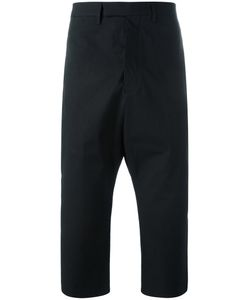 Rick Owens | Cropped Astaires Trousers 48 Cotton/Cupro/Rubber