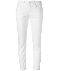 7 for all mankind | Straight-Leg Jeans 30 Cotton/Polyester/Spandex/Elastane