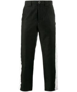 Maison Mihara Yasuhiro   Paint Stripe Trousers 48 Cotton/Linen/Flax