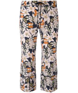 L' Autre Chose | Lautre Chose 3/4 Length Print Trousers 44 Silk