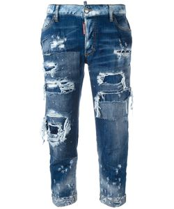 Dsquared2 | Distressed Jeans 36 Cotton/Spandex/Elastane