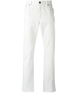 John Varvatos | Straight Leg Trousers 34 Cotton/Spandex/Elastane