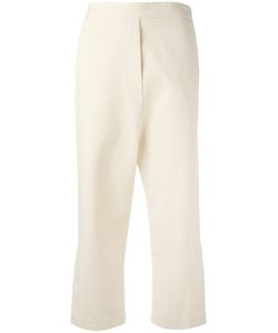 Ellery | Wide-Legged Cropped Trousers 10 Cotton/Wool/Polyamide/Cotton