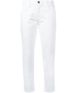 Current/Elliott | Folded Hem Cropped Jeans 26 Cotton/Spandex/Elastane
