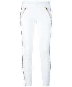 Alexander McQueen | Stripe Trousers 40 Cupro/Viscose/Polyamide/Silk