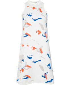 Derek Lam | Abstract Print Shift Dress