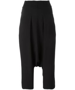 Rick Owens | Drop-Crotch Cropped Trousers 38 Acetate/Viscose/Polyamide/Spandex/Elastane