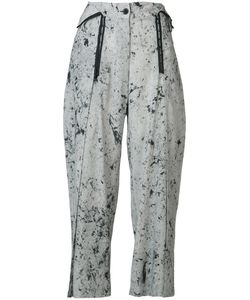 Lost & Found Rooms | Spot Marble Wide Leg Trousers Size