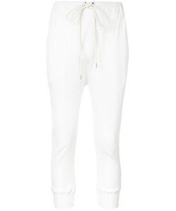 Bassike   Cropped Trousers 6 Elastodiene/Polyamide