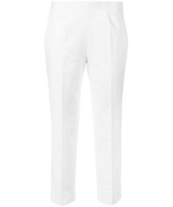 Piazza Sempione | Cropped Trousers 44 Cotton/Spandex/Elastane