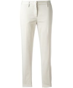 Aspesi | Cropped Trousers 40 Cotton/Spandex/Elastane