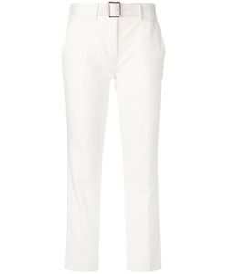 Moncler | Cropped Belted Trousers 46