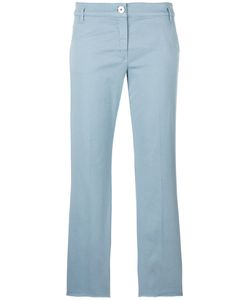 Dorothee Schumacher | Cropped Trousers 6 Cotton/Spandex/Elastane