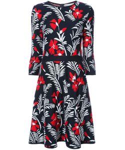 Carolina Herrera | Вязаное Платье С Цветочным Узором