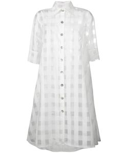 Ultràchic | Sheer Shirt Dress 40 Polyester