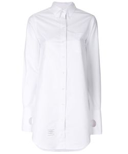 Thom Browne | Long Fitted Shirt Women