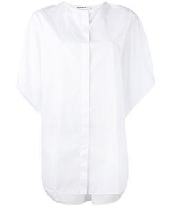 Jil Sander | Свободная Рубашка Со Складками