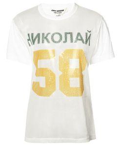JUNYA WATANABE COMME DES GARCONS | Junya Watanabe Comme Des Garçons 58 Print Sequinned T-Shirt