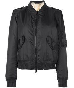 As65   Куртка-Бомбер С Меховой Оторочкой