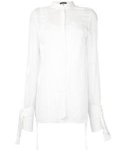 Ann Demeulemeester   Рубашка С Открытой Спиной