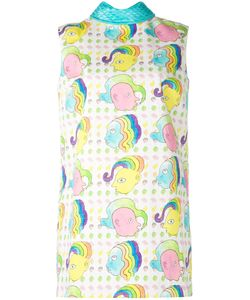 Olympia Le-Tan | Masters Mistress Print Mini Shift Dress Size 34