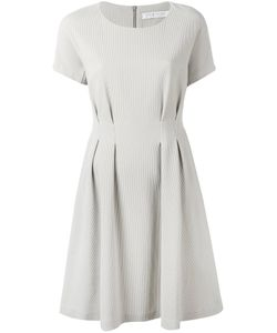 Harris Wharf London | Pleat Detail Fla Dress 44