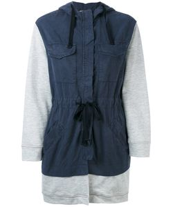 Semicouture | Drawstring Hooded Coat M