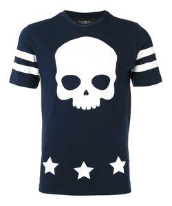 Hydrogen   Skull Print T-Shirt S