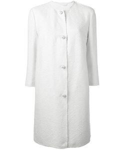 Ermanno Scervino   Pearl Button Down Coat Size 44