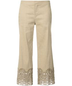 Kobi Halperin | Decorative Hem Cropped Trousers