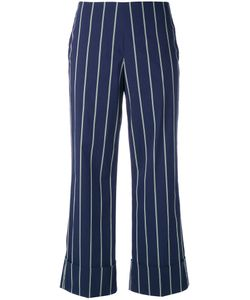 Fay | Pinstripe Trousers Size 44