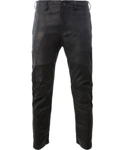 JULIUS | Leather Slim Fit Trousers Size 3