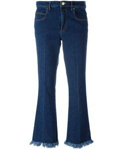 Sonia Rykiel | Cropped Fla Jeans 36 Cotton/Spandex/Elastane