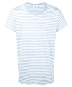 THE WHITE BRIEFS | Sunset Stripe T-Shirt Small Organic