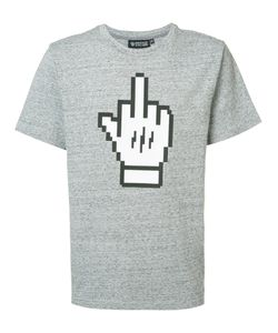 Mostly Heard Rarely Seen | Middle Finger T-Shirt Small Cotton