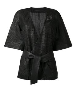 Drome | Belted Kimono Medium Leather/Cupro