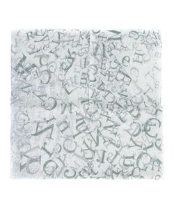 The Mercer N.Y. | Alphabet Print Scarf