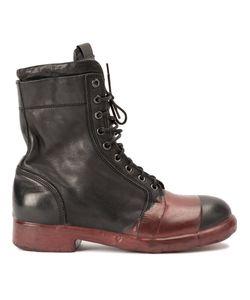 OXS RUBBER SOUL | Контрастные Ботинки В Стиле Милитари