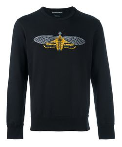 Alexander McQueen | Moth Embroidered Sweatshirt