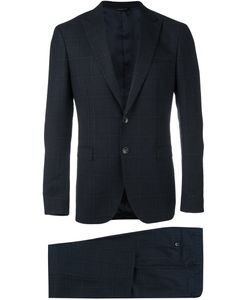 Tonello | Plaid Slim Fit Suit