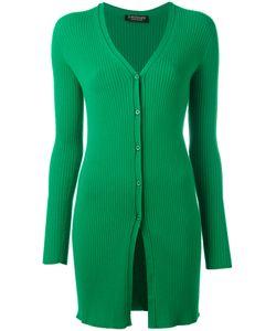 Twin-set | Elongated Ribbed Cardigan Size Large
