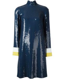 Emilio Pucci | Платье С Высокой Горловиной И Пайетками