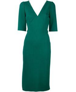 Dolce & Gabbana   Платье C V-Образным Вырезом