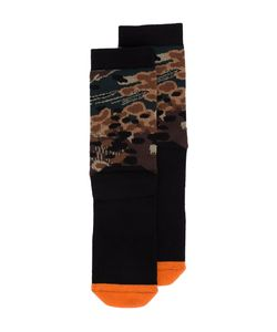 11 BY BORIS BIDJAN SABERI   Camouflage Socks