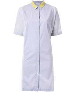 Megan Park   Платье-Рубашка Ari В Полоску