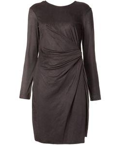 Josie Natori | Asymmetric Draped Dress