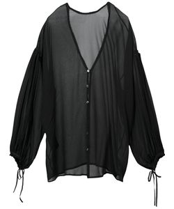 Isabel Benenato | V-Neck Blouse